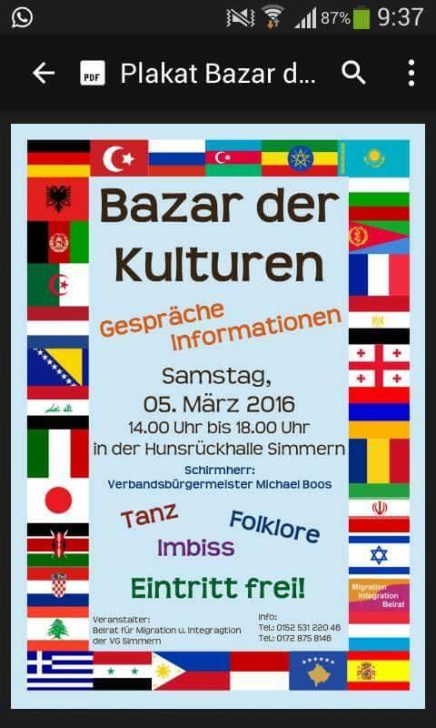 Bazar der Kulturen