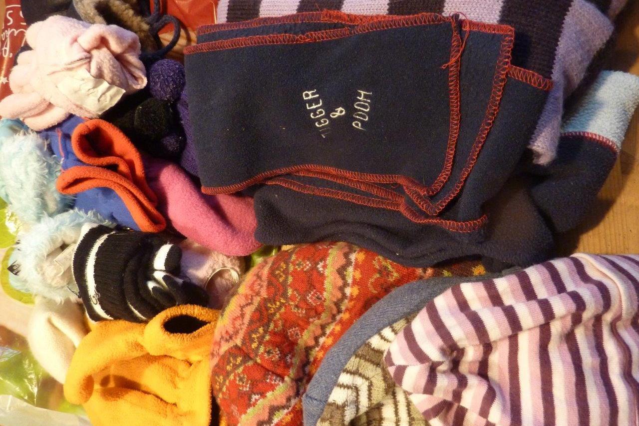 Mützen- und Handschuhspenden 1